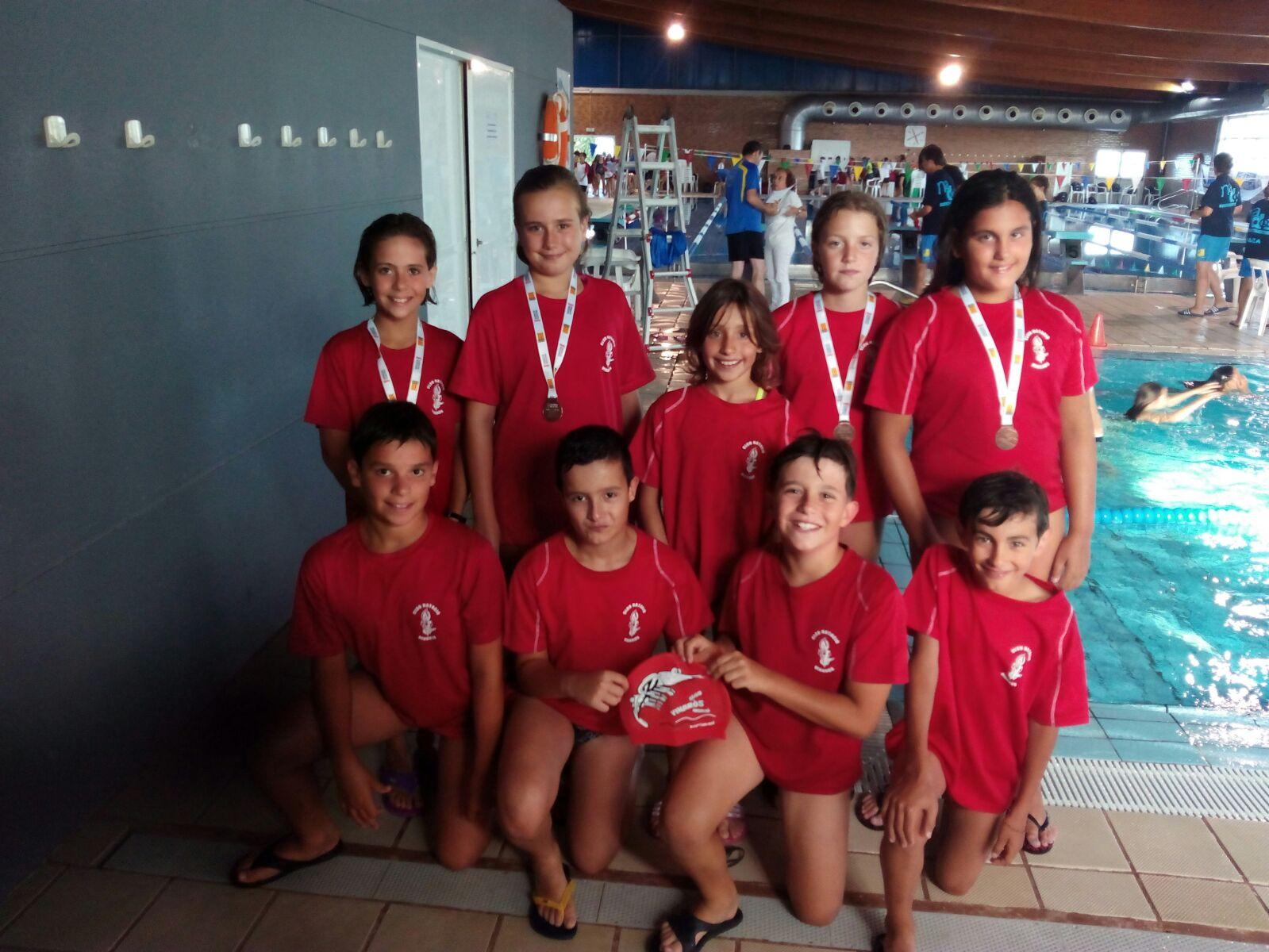 Campionat auton mic benjam club nataci vinar s for Piscina municipal martorell